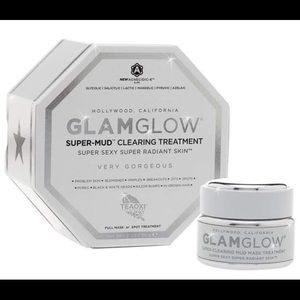 New! Glam Glow super mud clearing treatment mask